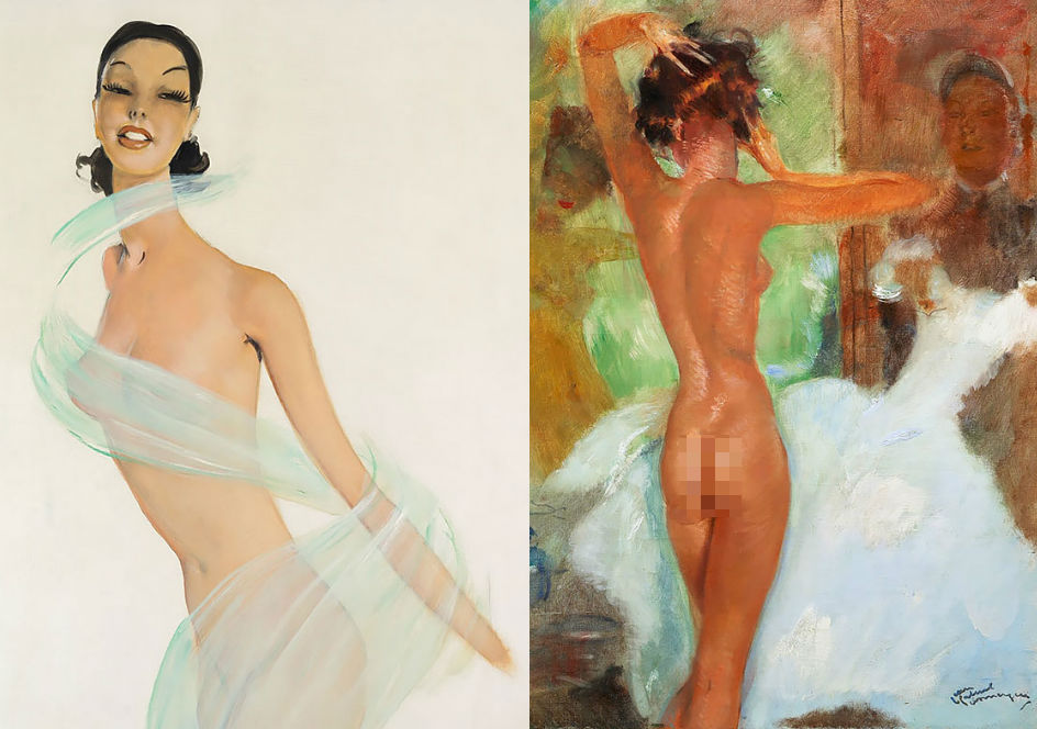 painter Domergue