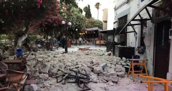 В Греции и Турции 200 человек пострадало от землетрясения