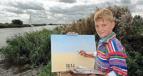 О 14-летнем художнике, заработавшем 150 миллионов рублей, снялифильм