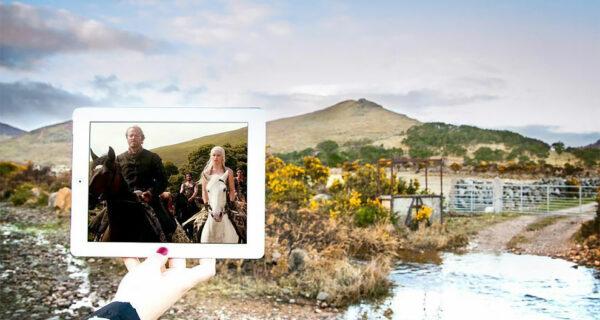 По Вестеросу с айпадом: блогеры наложили скриншоты «Игры престолов» на реальные ландшафты