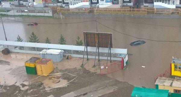 Сибирская Венеция: Красноярск затопило, введен режимЧС