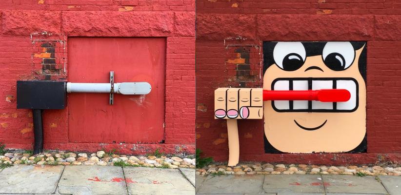 min street art
