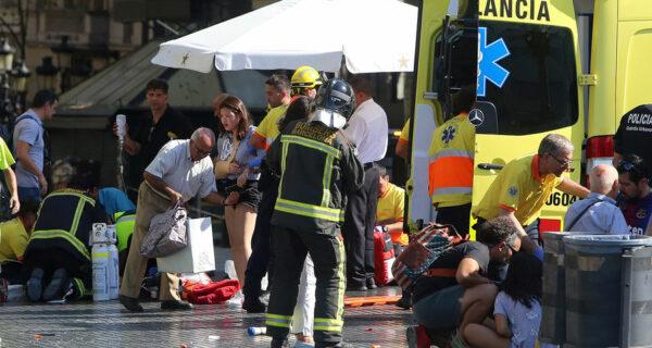 В Барселоне произошел теракт. Как минимум 13 человек погибли