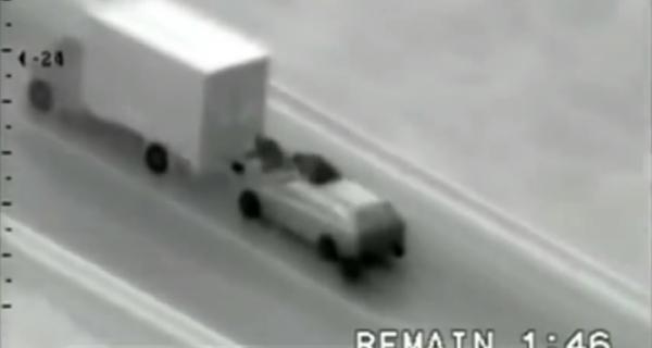 Банда румын на ходу украла из грузовика айфоны на полмиллиона евро