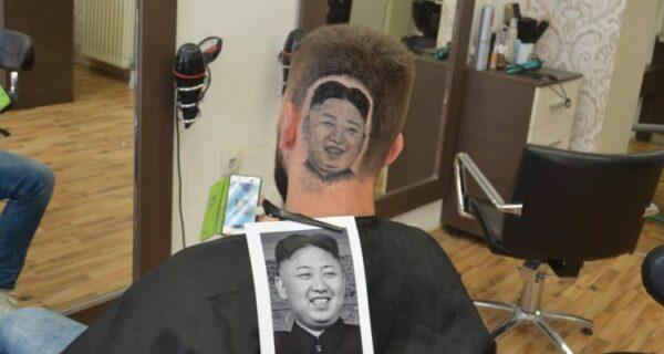 Портрет вождя на затылке: сербский парикмахер прославился благодаря Ким ЧенЫну