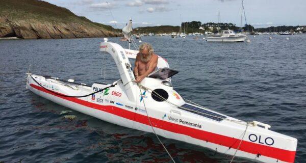 Суши весла: польский пенсионер пересек Атлантику на байдарке, проплыв более 100дней