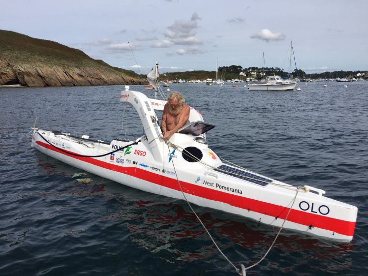 Pensioner, 70, successfully crosses the Atlantic in a