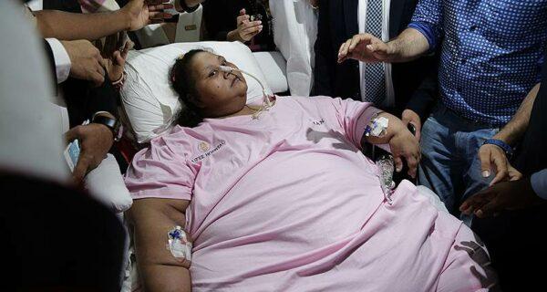 В Абу-Даби скончалась самая тяжелая женщина вмире