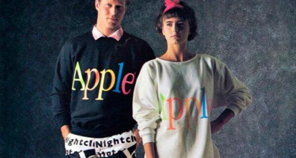 Оказывается, без Стива Джобса в 1980‑е годы Apple продавала одежду