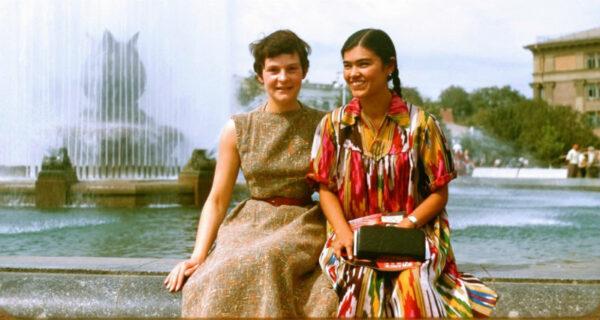 Французский турист в Узбекистане 1956года