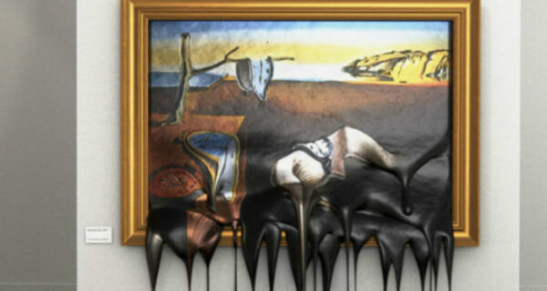 Горячее искусство: как выглядят известные картины, «стекшие» напол