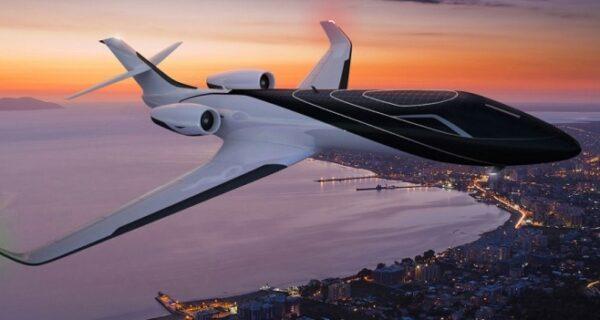 Французы строят самолет без иллюминаторов, но с потрясающим видом из салона