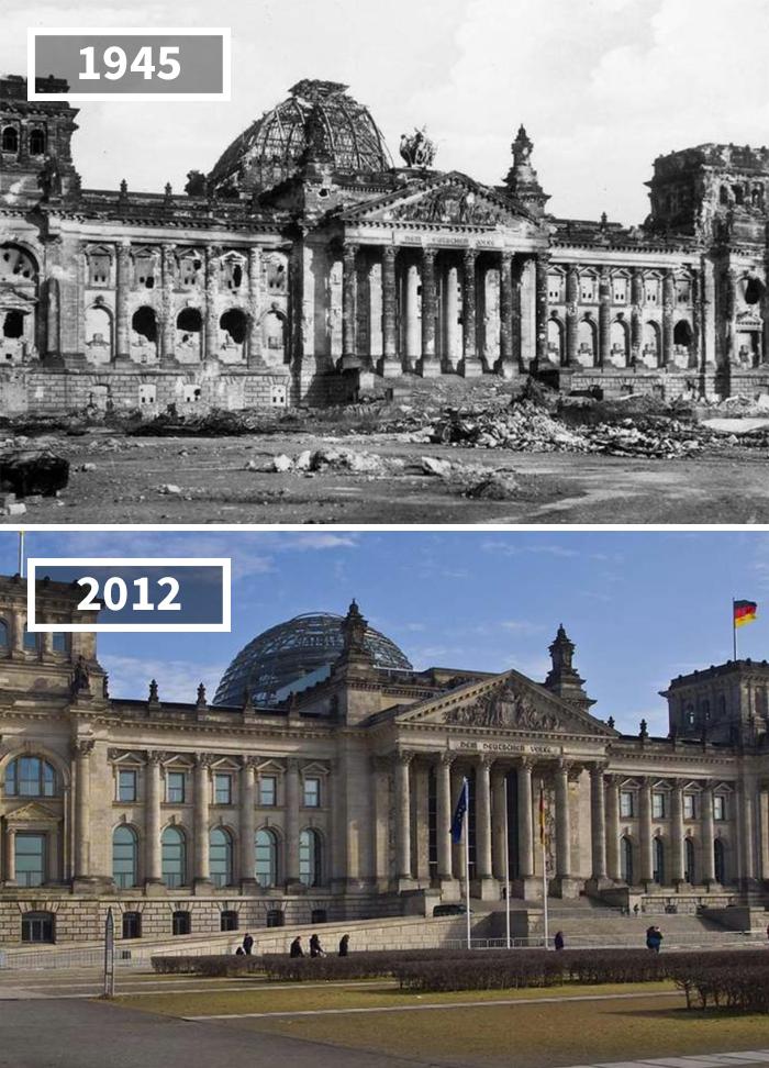 Как изменился мир за 100 лет: фотографии до и после Как изменился мир за 100 лет: фотографии до и после 1183