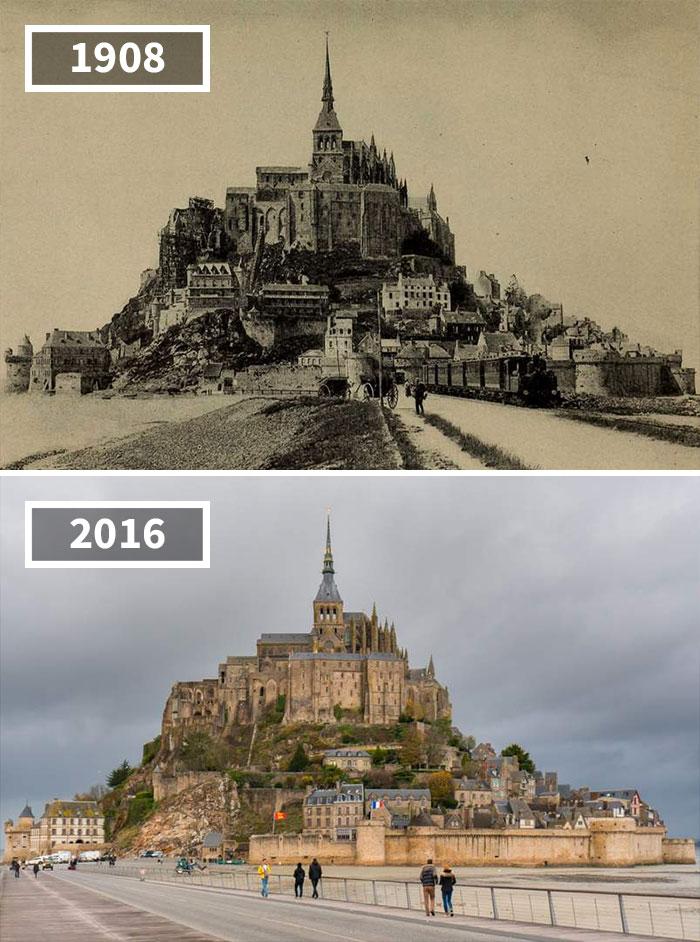 Как изменился мир за 100 лет: фотографии до и после Как изменился мир за 100 лет: фотографии до и после 1246