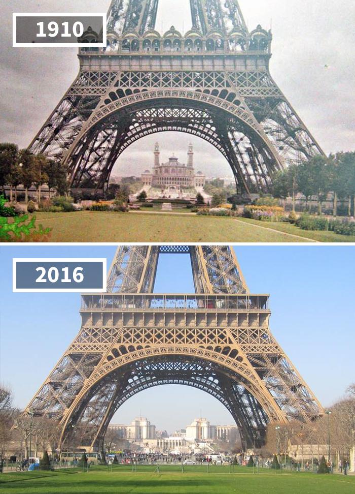 Как изменился мир за 100 лет: фотографии до и после Как изменился мир за 100 лет: фотографии до и после 1332