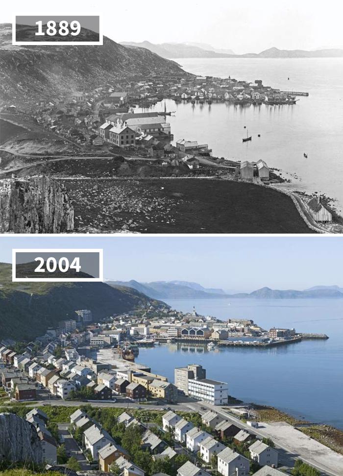 Как изменился мир за 100 лет: фотографии до и после Как изменился мир за 100 лет: фотографии до и после 1431
