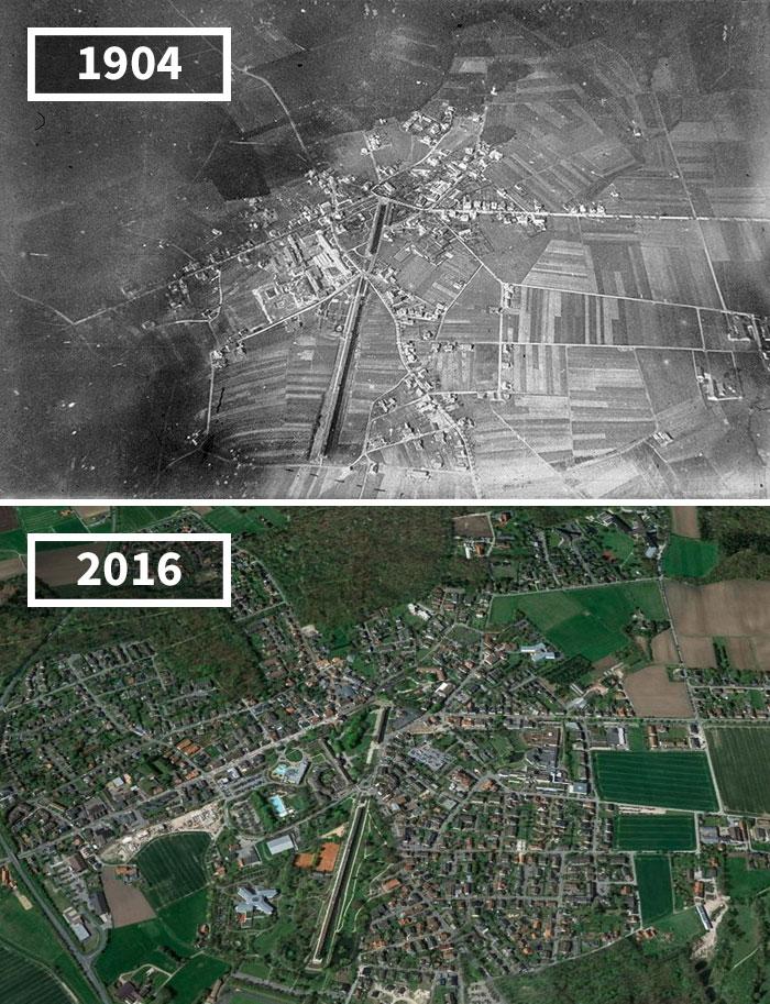 Как изменился мир за 100 лет: фотографии до и после Как изменился мир за 100 лет: фотографии до и после 1530