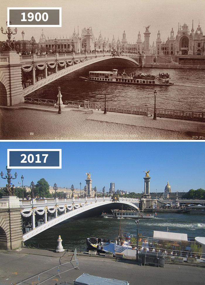 Как изменился мир за 100 лет: фотографии до и после Как изменился мир за 100 лет: фотографии до и после 1819