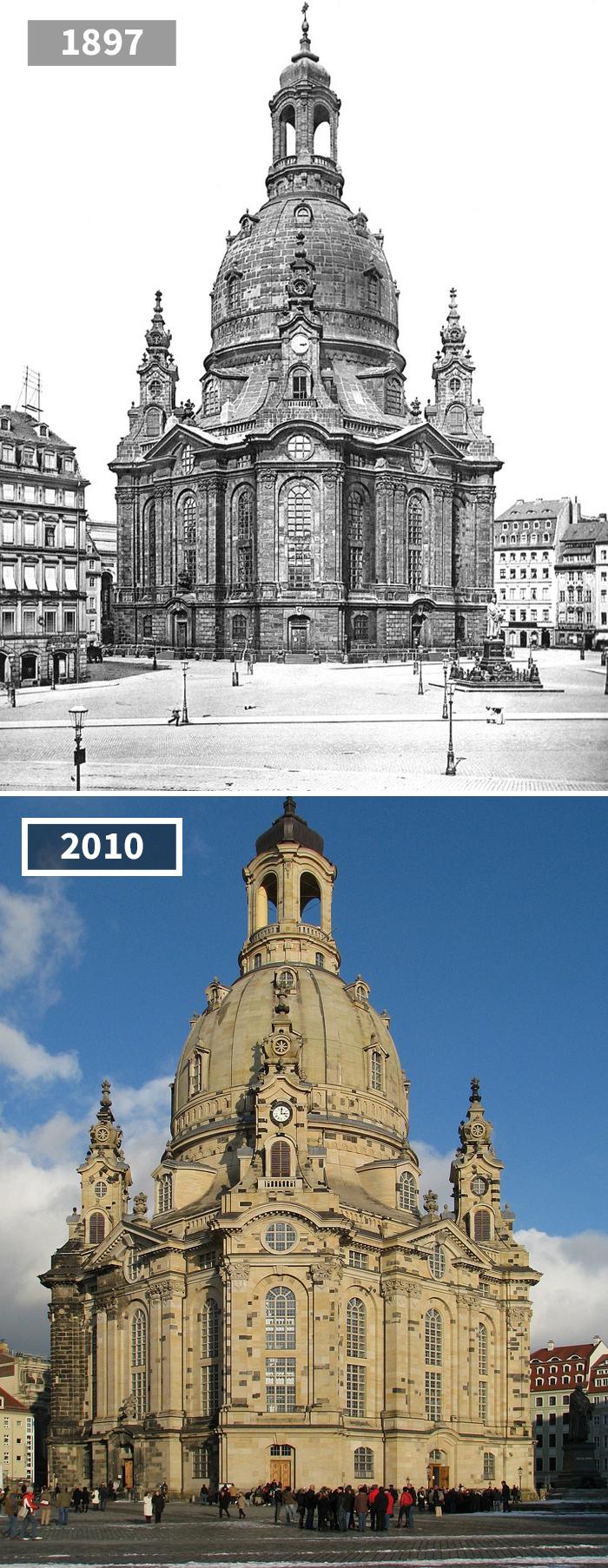 Как изменился мир за 100 лет: фотографии до и после Как изменился мир за 100 лет: фотографии до и после 1919