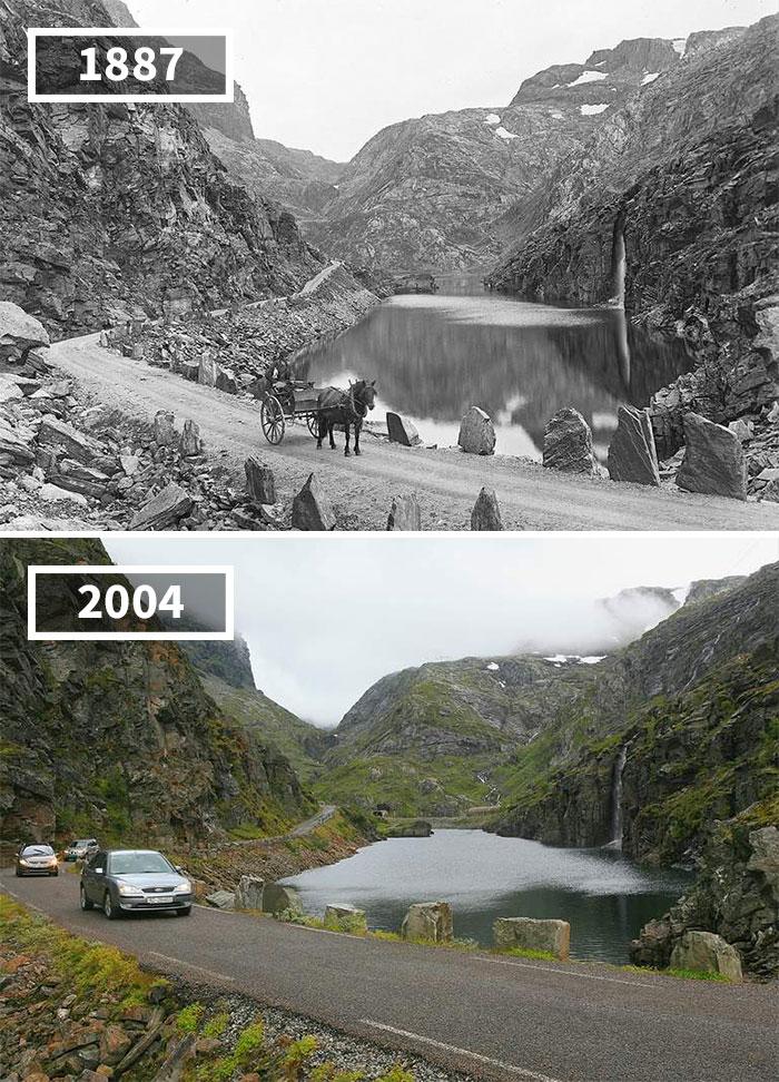 Как изменился мир за 100 лет: фотографии до и после Как изменился мир за 100 лет: фотографии до и после 2149