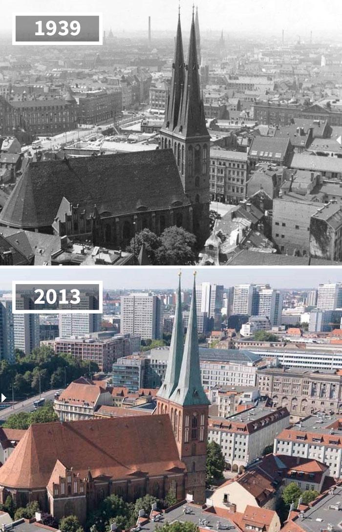 Как изменился мир за 100 лет: фотографии до и после Как изменился мир за 100 лет: фотографии до и после 2518