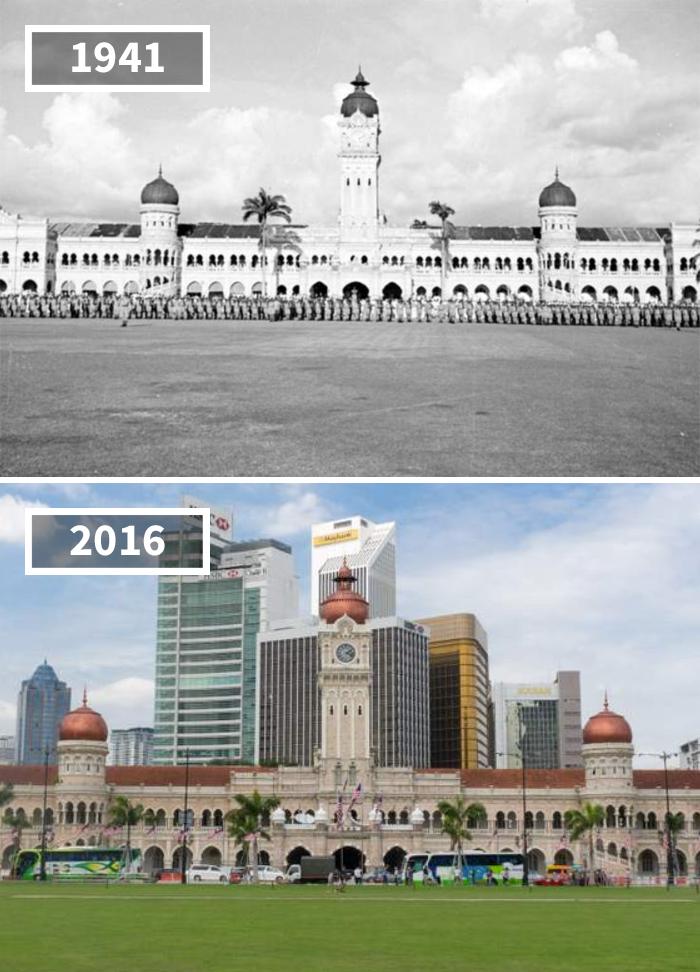 Как изменился мир за 100 лет: фотографии до и после Как изменился мир за 100 лет: фотографии до и после 2614