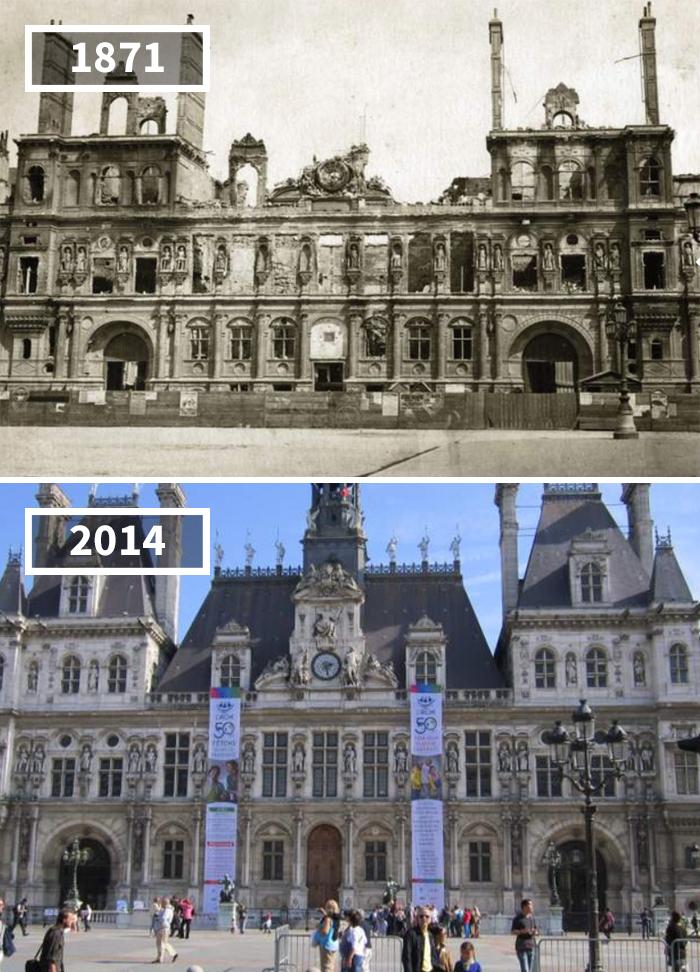 Как изменился мир за 100 лет: фотографии до и после Как изменился мир за 100 лет: фотографии до и после 2714