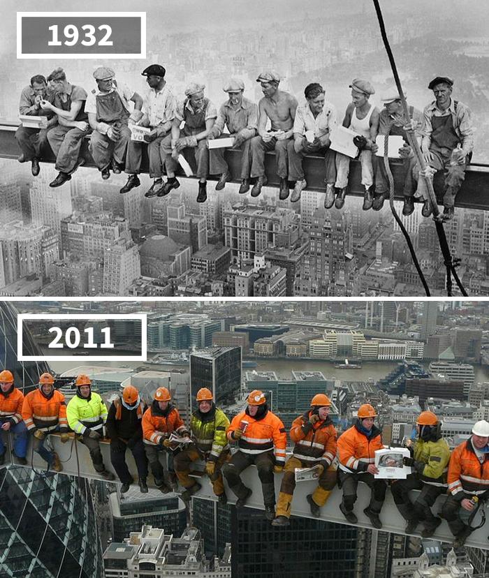 Как изменился мир за 100 лет: фотографии до и после Как изменился мир за 100 лет: фотографии до и после 2812