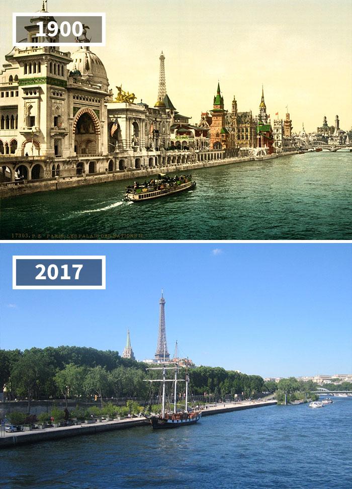 Как изменился мир за 100 лет: фотографии до и после Как изменился мир за 100 лет: фотографии до и после 479