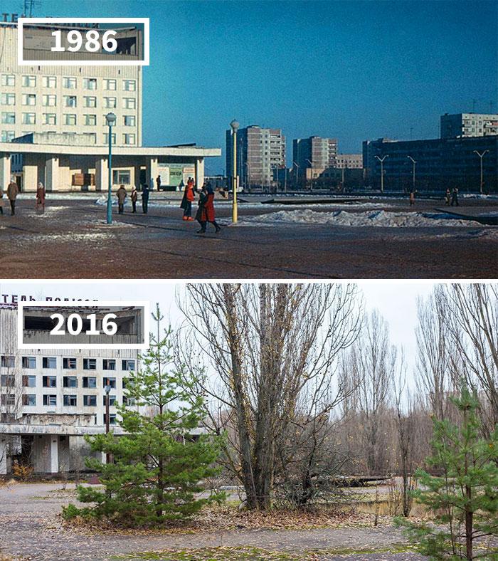 Как изменился мир за 100 лет: фотографии до и после Как изменился мир за 100 лет: фотографии до и после 566