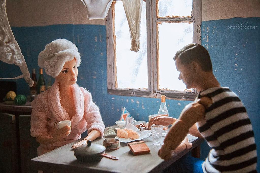 Какой была бы жизнь Барби и Кена в СССР?