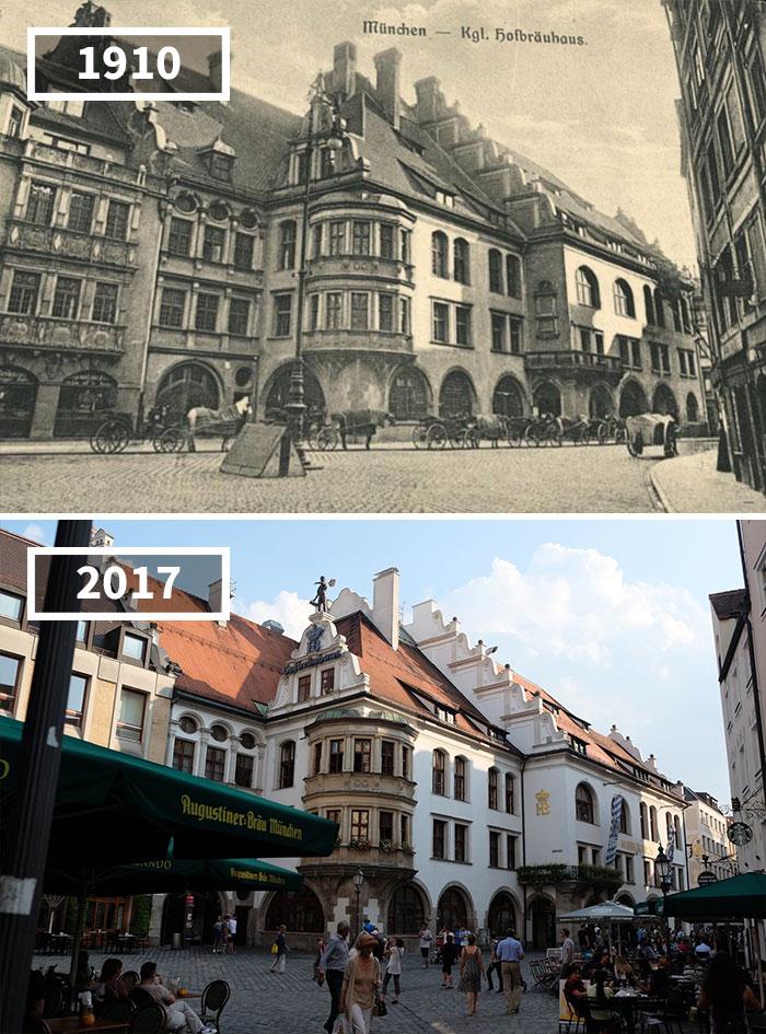 Как изменился мир за 100 лет: фотографии до и после Как изменился мир за 100 лет: фотографии до и после 652