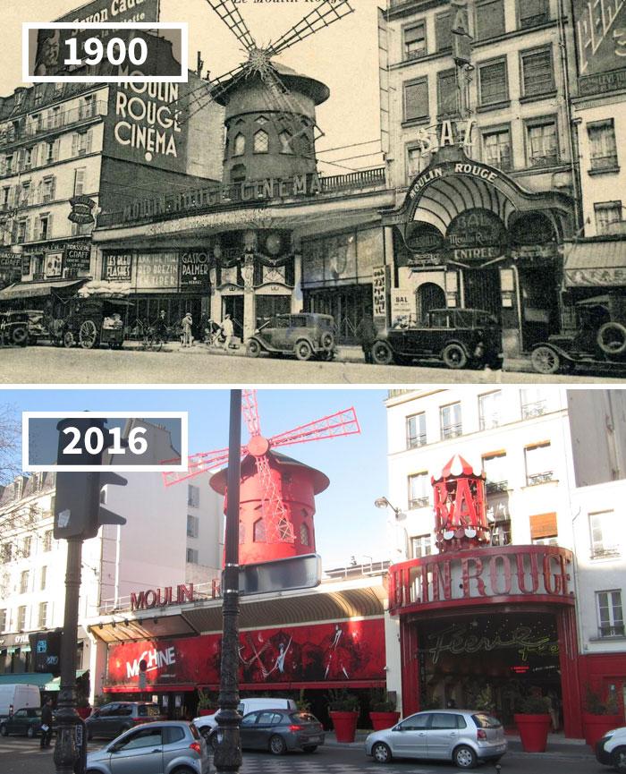 Как изменился мир за 100 лет: фотографии до и после Как изменился мир за 100 лет: фотографии до и после 936