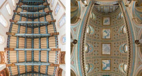 Потрясающие снимки храмов от входа до алтаря в одномфото