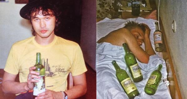 Папа — стакан портвейна: как и что пили российские рок-звезды