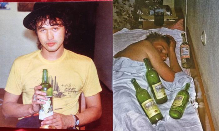 Папа — стакан портвейна: как и что пили российские рок-звезды фото