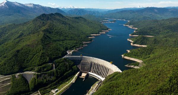 Хакасия с высоты: природный парк Ергаки, Саяно-Шушенская ГЭС и Абакан