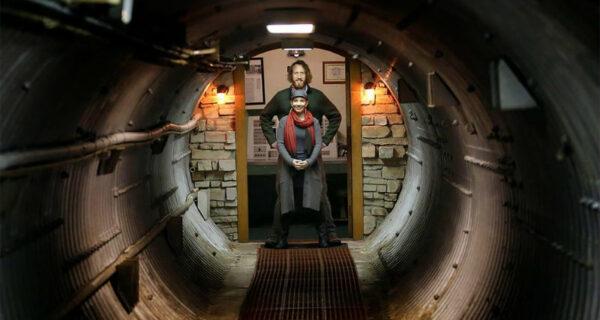Бывшую подземную ракетную базу превратили в роскошный дом и сдают на Airbnb