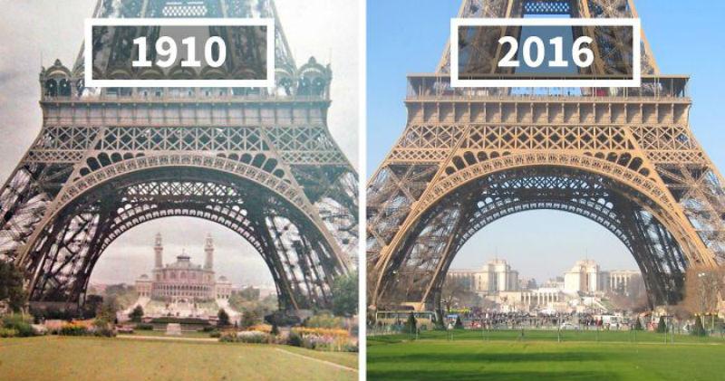 Как изменился мир за 100 лет: фотографии до ипосле
