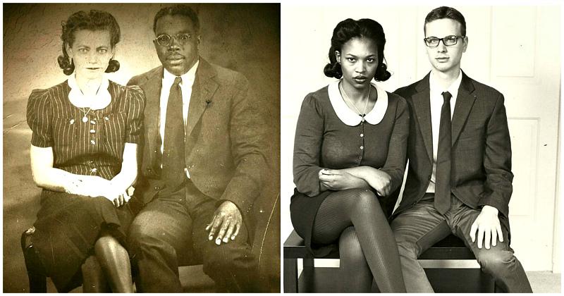 Запусти машину времени: 25 фото бабушек и дедушек, которые воссоздали их внуки фото