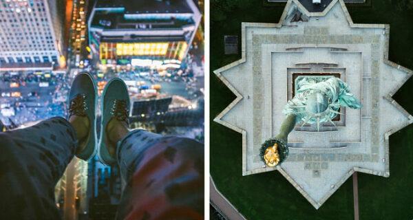 Фотограф-самоучка снимает Нью-Йорк с такого ракурса, что от его снимков голова кругом идет