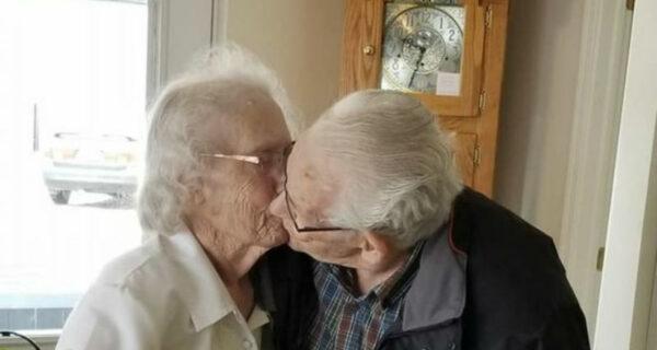 Пожилая пара впервые за 70 лет отпразднует Рождество порознь