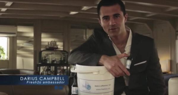 Британский певец впал в кому, выпив воды из Темзы на съемках рекламы фильтров