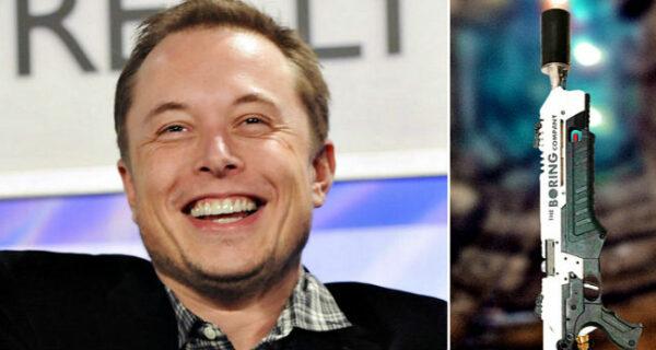 Илон Маск презентовал огнемет на случай зомби-апокалипсиса