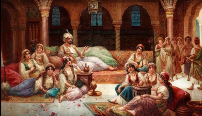 Лесбиянство в гаремах мусульманского востока
