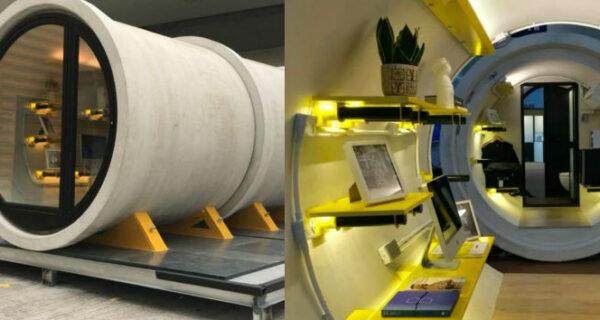 Жизнь в бетонной трубе: в Гонконге предложили строить жилье в водопроводных трубах