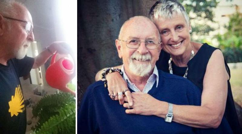 Умирающая жена попросила поливать цветы. Через несколько лет муж обнаружил, что они искусственные фото