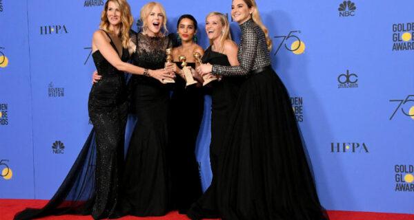 «Золотой глобус» в черных платьях: так актрисы выразили протест против сексуального насилия