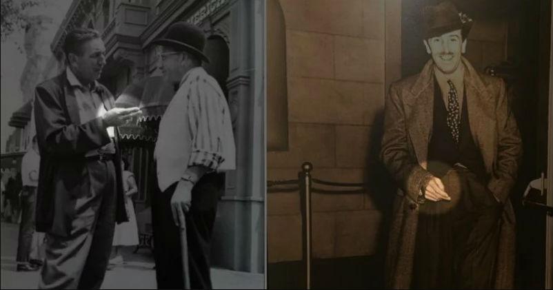 Почему Уолт Дисней на всех своих фотографиях показывает два пальца