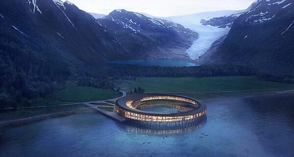 Скандинавский суперпроект: отель на солнечных батареях в арктическом климате